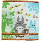 Hand Towel - 34x36cm - Steam Shirring - Embroidery - Nekobus - Totoro - Ghibli - 2014 (new)