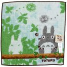 Mini Towel - 25x25cm - Steam Shirring - Embroidery - Nekobus - Totoro - Ghibli - 2014 (new)
