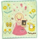 Hand Towel - 34x36cm - Jacquard Weaving - Mei Clothes - Totoro - Ghibli - 2016 (new)