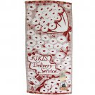 Bath Towel - 60x120cm - Applique & Embroidery - Bouquet - Kiki's Delivery Service - 2016 (new)