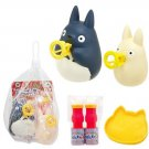 Bubble Wand Set - Squeezing - 2 x Bubble Soap & Tray & Chu Totoro & Sho Totoro - Ghibli - 2015 (new)