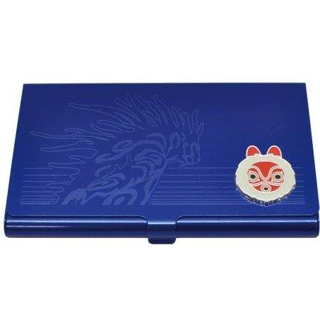 Card Case for 20 Cards - Aluminum - San & - Daidarabotchi - Mononoke - Ghibli - Ensky - 2016 (new)