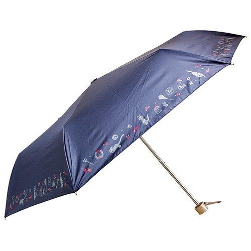 Folding Umbrella & Case - UV Cut & Rain - Jiji - Kiki's Delivery Service - Ghibli - 2016 (new)