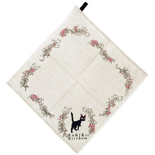 Kitchen Cloth - 37x38cm - Cotton & Hemp - Jiji - Kiki's Delivery Service - Ghibli - 2016 (new)