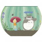 80 pieces Jigsaw Puzzle - Three Dimensional Art Bowl -bus stop- Totoro - Ghibli - Ensky - 2016 (new)