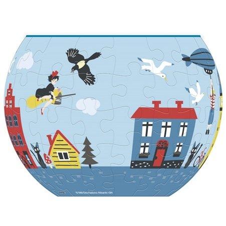84 piece Jigsaw Puzzle -Three Dimensional Art Bowl -Koriko- Kiki - Kiki's Delivery Service 2016(new)