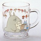 1 left - Mug Cup - Glass - meal - Noritake - made in Japan - Totoro - Ghibli - no production (new)