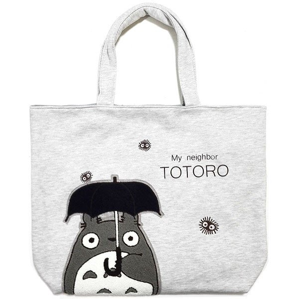 Tote Bag M - 44x38cm - Japanese Sagara Embroidery - Totoro - Ghibli - Sun Arrow - 2016 (new)