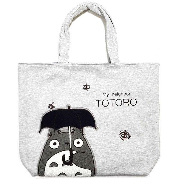 Tote Bag M - 44x38cm - Japanese Sagara Embroidery - Totoro - Ghibli - Sun Arrow - 2016 (new)