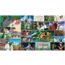 2017 Wall Monthly Calendar - 22 Studio Ghibli Movie - Totoro Kiki Ponyo Laputa Red Turtle (new)