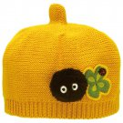 Baby Hat - Cotton - Yellow - Acorn Top Shape - Clover & Kurosuke - Totoro - 2016 (new)