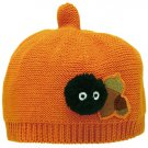 Baby Hat - Cotton - Orange - Acorn Top Shape - Acorn & Kurosuke - Totoro - 2016 (new)
