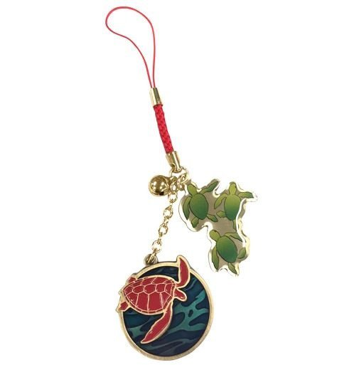 Strap - Bell - Red Turtle / La Tortue Rouge - Ghibli - 2016 (new)
