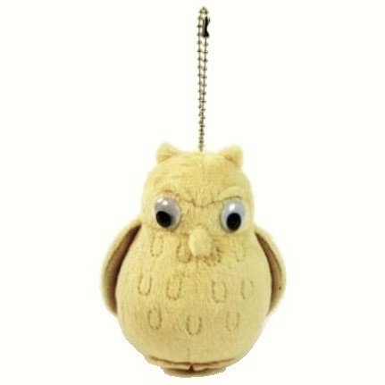 Mascot Plush Doll - Ball Chain - Owl - When Marnie was There - Sun Arrow -2014- no production (new)