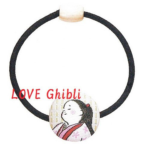 Hair Rubber Band - Embroidery - Made in Japan - Tale of Princess KAGUYA - 2013 - no production (new)