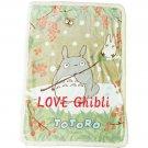 Blanket (M) - 100x140cm - Microfiber - Micro Sheep Boa - Totoro - Ghibli - 2016 (new)