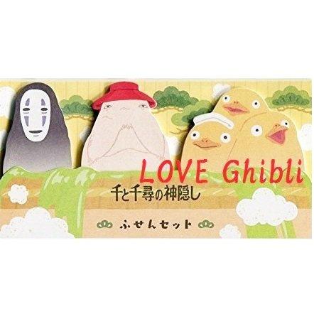 Post-it Sticky Note -3 Designx20Each- Kaonashi Oshirasama Ootorisama Spirited Away Ghibli 2016 (new)