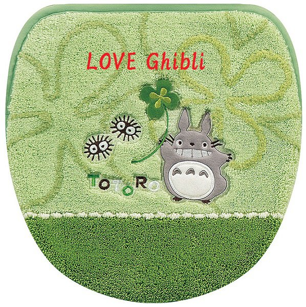 Toilet Lid Cover - Applique - Totoro - Ghibli - 2016 (new)