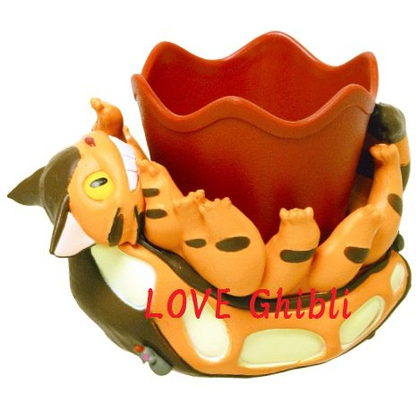 Mini Planter Pot - Nekobus / Catbus - Totoro - Ghibli - 2016 (new)