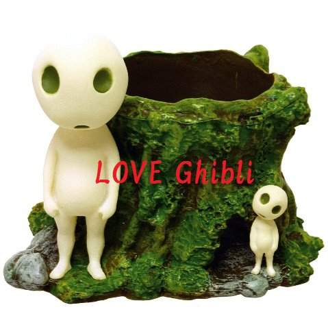 Mini Planter Pot - Kodama - Mononoke - Ghibli - 2016 (new)