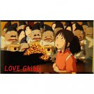 1 left - Bookmarker - Movie Film #12 - 6 Frame - Sen - Spirited Away - Ghibli Museum (new)