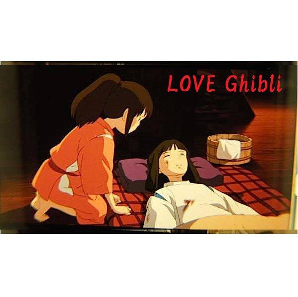 1 left - Bookmarker - Movie Film #19 - 6 Frame - Haku & Sen - Spirited Away - Ghibli Museum (new)