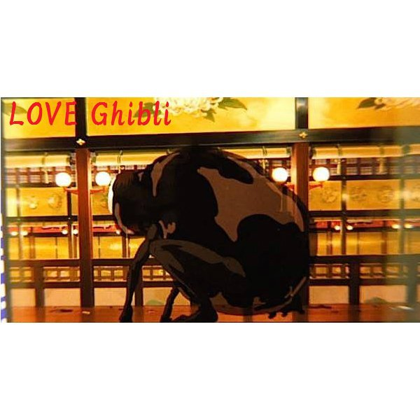 1 left- Bookmarker - Movie Film #24 -6 Frame- Kaonashi No Face - Spirited Away - Ghibli Museum (new)