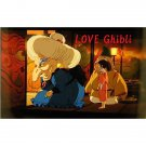 1 left - Bookmarker - Movie Film #26 - 6 Frame - Sen & Yubaba - Spirited Away - Ghibli Museum (new)