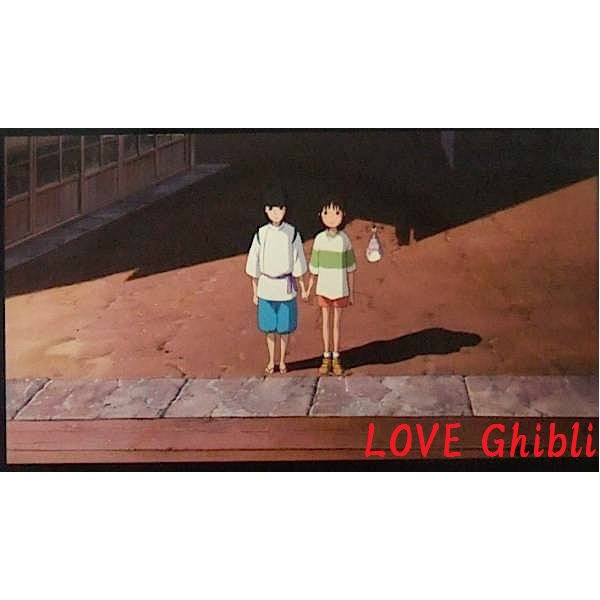 1left- Bookmarker -Movie Film #36- 6 Frame- Sen Haku Bounezumi - Spirited Away - Ghibli Museum (new)