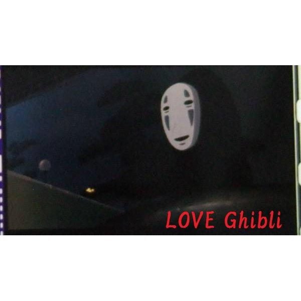 1 left- Bookmarker - Movie Film #44- 6 Frame- Kaonashi No Face - Spirited Away - Ghibli Museum (new)