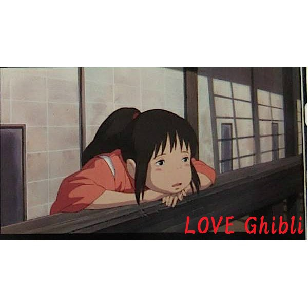 1 left - Bookmarker - Movie Film #46 - 6 Frame - Sen - Spirited Away - Ghibli Museum (new)
