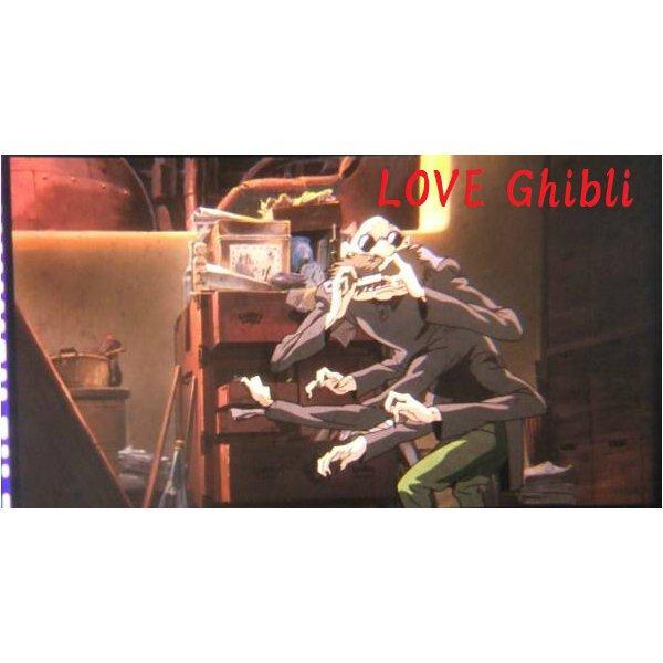1 left - Bookmarker - Movie Film #56 - 6 Frame - Kamaji - Spirited Away - Ghibli Museum (new)