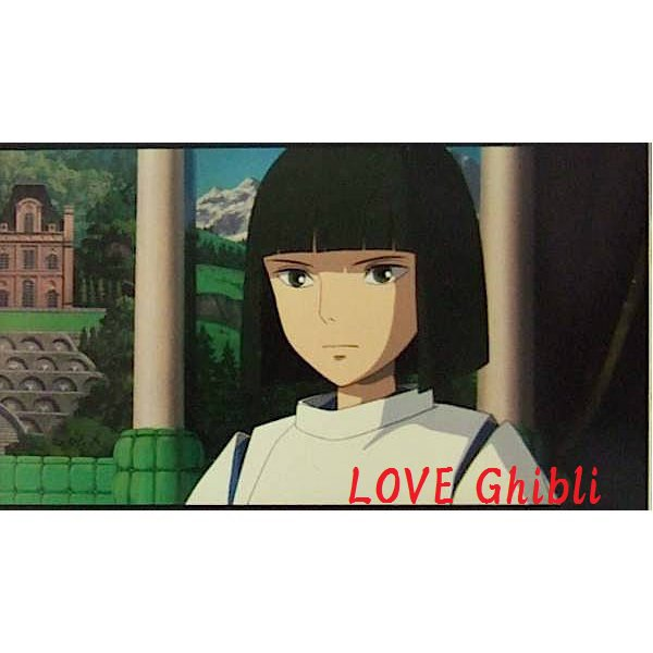 1 left - Bookmarker - Movie Film #57 - 6 Frame - Haku - Spirited Away - Ghibli Museum (new)