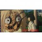 1 left - Bookmarker - Movie Film #60 - 6 Frame - Yubaba & Haku - Spirited Away - Ghibli Museum (new)