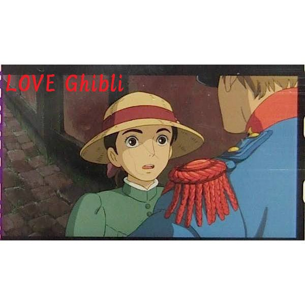 1 left- Bookmarker - Movie Film #11 - 6 Frame- Sophie - Howl's Moving - Ghibli Museum (new)