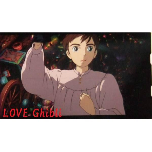 1 left - Bookmarker - Movie Film #21 - 6 Frame - Sophie - Howl's Moving - Ghibli Museum (new)