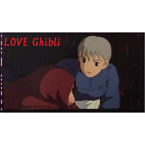 1 left - Bookmarker - Movie Film #34 - 6 Frame - Sophie - Howl's Moving - Ghibli Museum (new)