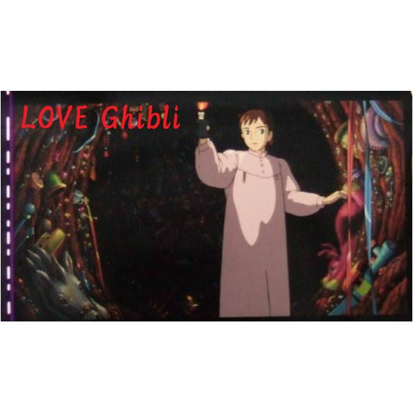 1 left - Bookmarker - Movie Film #47 - 6 Frame - Sophie - Howl's Moving - Ghibli Museum (new)