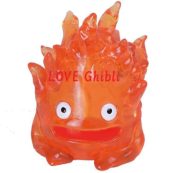 Figure Toy - 3D Jigsaw Puzzle - 9 pieces - Calcifer - Howl's Moving Castle - Ghibli 2016 (new)
