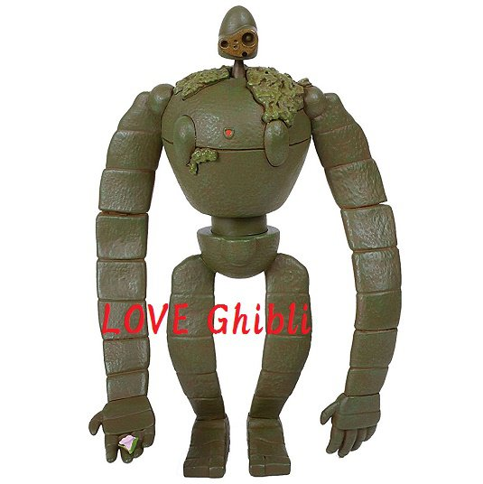 Figure Toy - 3D Jigsaw Puzzle - 23 pieces - Robot - Laputa - Ensky - Ghibli - 2016 (new)