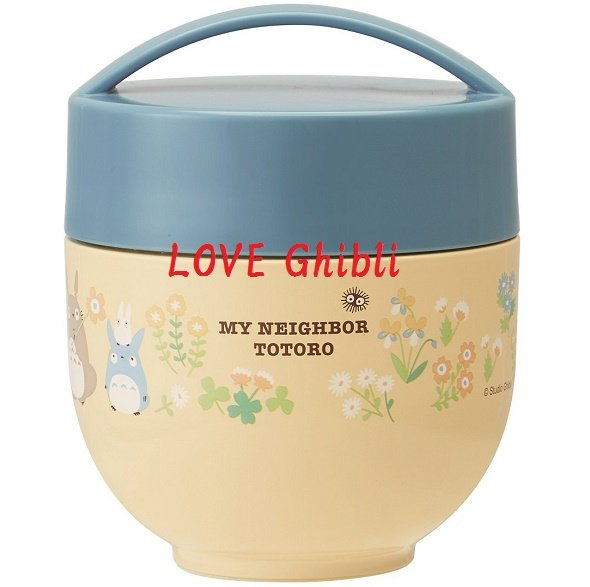 Lunch Bento Box - Thermal Bowl & Container 540ml Stainless Steel Vacuum Insulation Totoro 2016 (new)