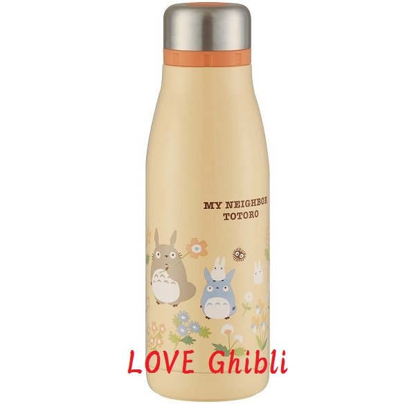 Thermal Bottle Vacuum Flask 400ml - Stainless Steel Double Wall Vacuum - 2 Mouth - Totoro 2016 (new)