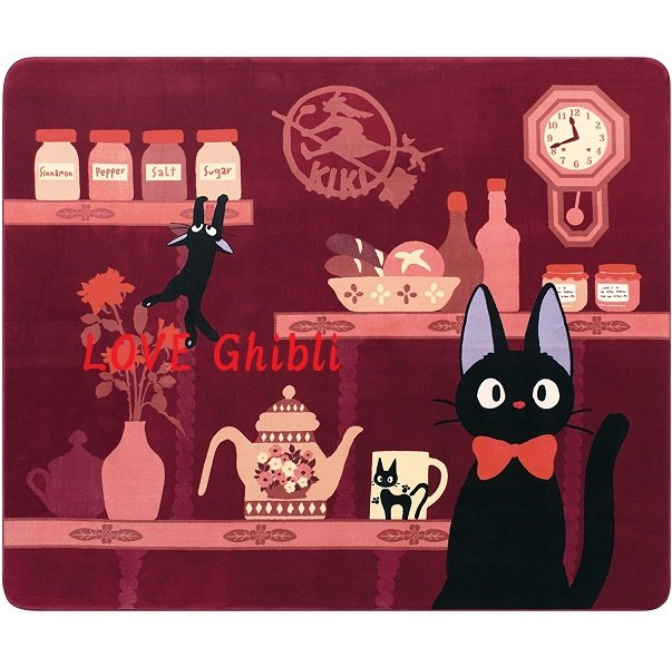 Rug Carpet / Hot Carpet Cover - 200x240cm - Jiji - Kiki's Delivery Service - Ghibli - 2016 (new)