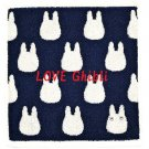 Wash Towel -33x36cm- Jacquard Weaving - Made in Portugal -Navy- Sho Chibi Totoro - Ghibli 2016 (new)