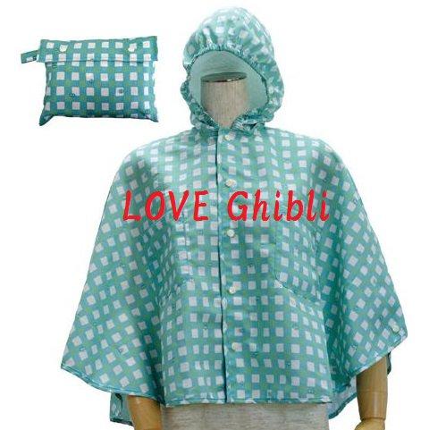 Raincoat & Pouch - Kid Poncho - 110cm / 3.6ft - Kurosuke / Shootballs - Totoro - 2016 (new)