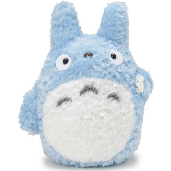 Plush Doll (M) - Fluffy Soft - Chu Totoro - Ghibli - Sun Arrow - 2014 (new)