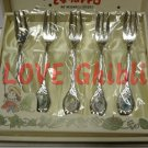 5 Fork Set - 13.5cm - Different Picture - Noritake - Made in Japan - Totoro - no production (new)