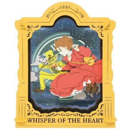 Paper Craft Kit - Paper Theater - Whisper of the Heart - Ghibli - Ensky - 2017 (new)