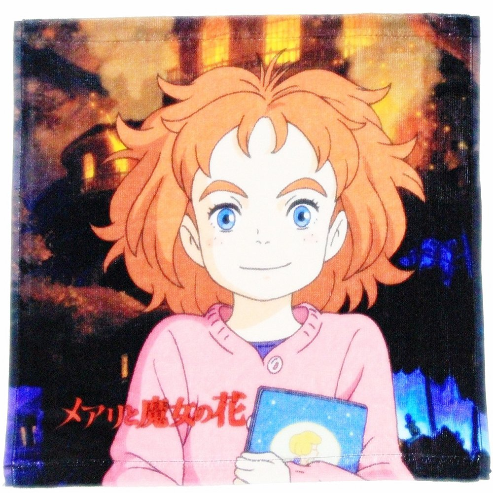Wash Towel - 34x35cm - Mary - Mary and the Witch's Flower - Ghibli - 2017 (new)