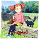 Wash Towel - 34x35cm - Lunch - Mary and the Witch's Flower - Ghibli - 2017 (new)